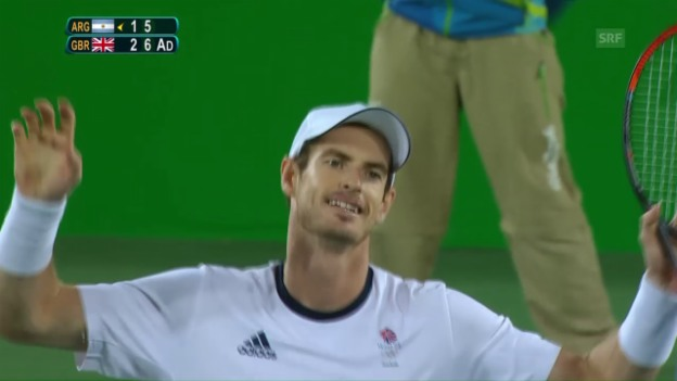 Video «Andy Murrays grosse Aufholjagd» abspielen