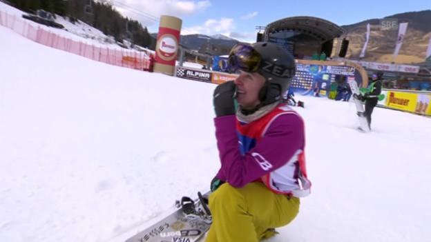 Video «Snowboard: WM in Kreischberg. Boardercross-Final» abspielen