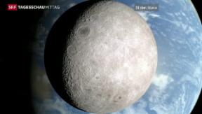 Video «Bilder der dunklen Seite des Mondes» abspielen