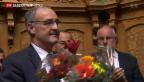 Video «Guy Parmelin wird neuer Bundesrat» abspielen