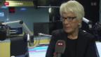 Video «Del Ponte zeigt sich zufrieden» abspielen