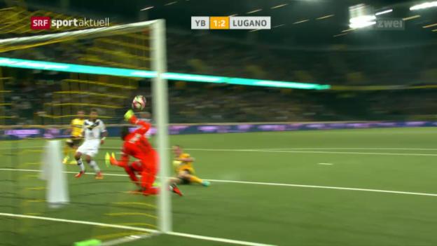 Video «Lugano schockt die Young Boys» abspielen