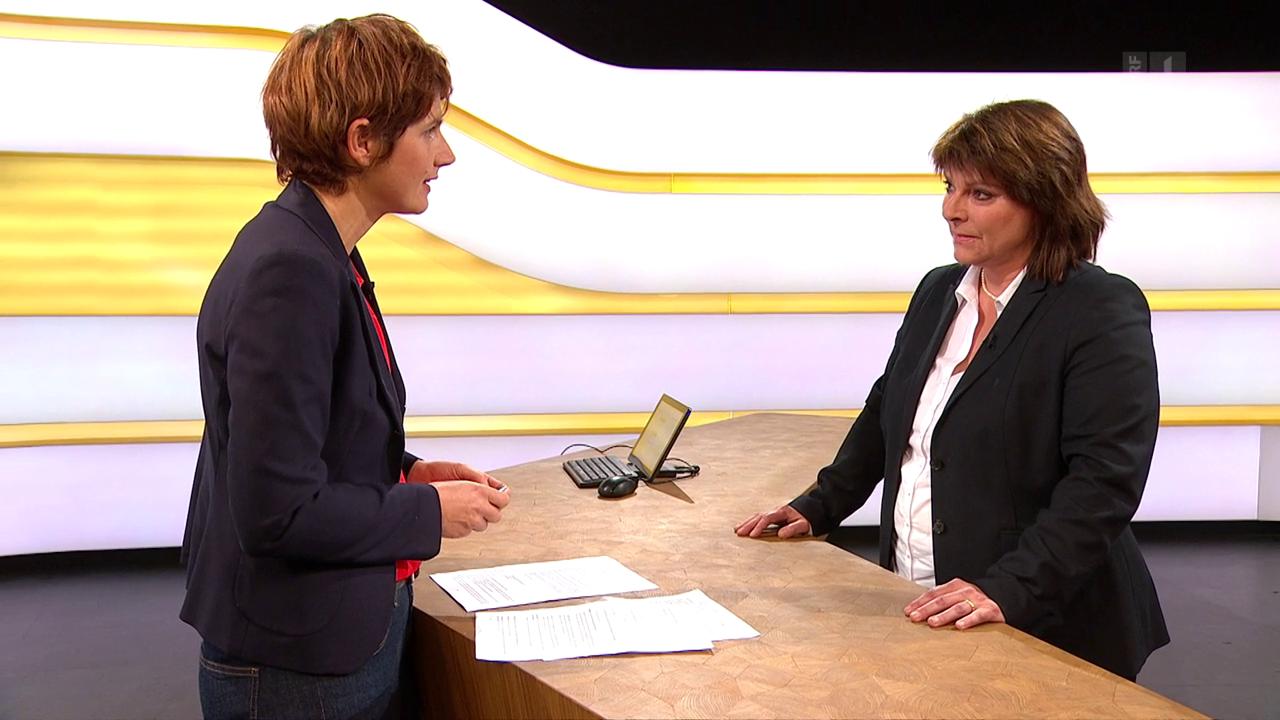 Studiogespräch mit Verena Nold von der Santésuisse
