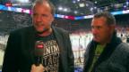 Video «Eishockey: Nach dem 1. Playoff-Final-Spiel ZSC Lions - Kloten» abspielen
