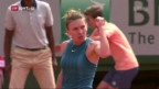 Video «Halep bricht ihren Grand-Slam-Fluch» abspielen