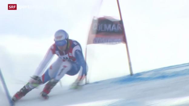 Video «Ski: Riesenslalom der Männer in Val d'Isère» abspielen