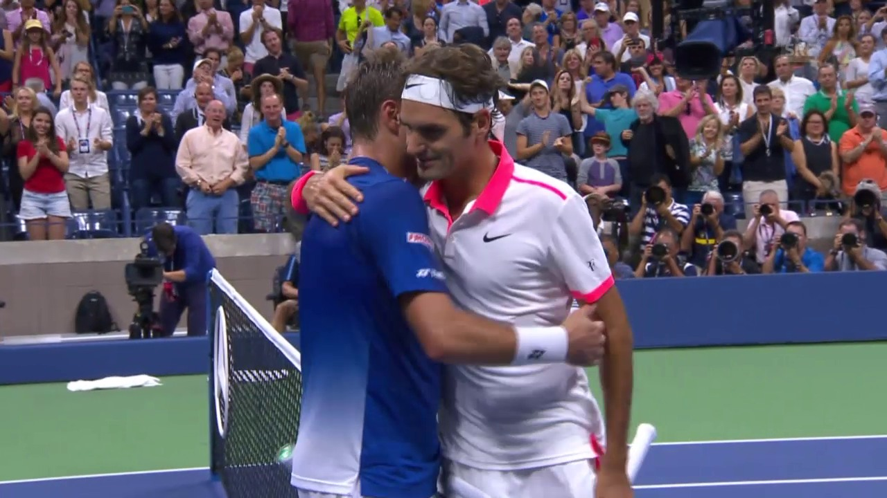 Tennis: US Open, Live-Highlights Wawrinka - Federer