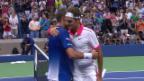 Video «Tennis: US Open, Live-Highlights Wawrinka - Federer» abspielen