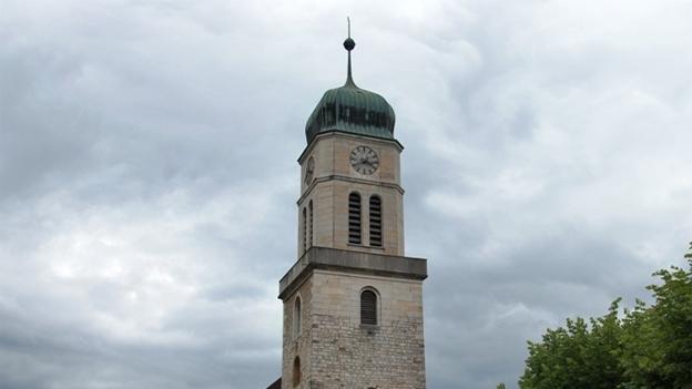 Glockengeläut der Kirche La Collégiale, St. Imier