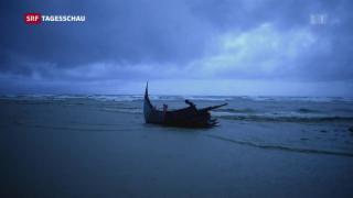 Video «Die gefährliche Flucht nach Bangladesch» abspielen