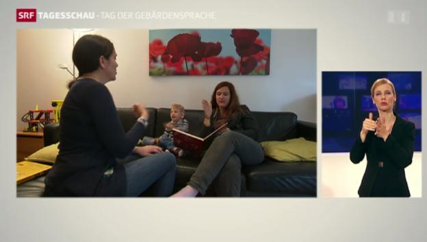 Video «Die Gebärdensprache in der Schweiz» abspielen