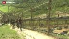 Video «Schlechte Stimmung zwischen Nord- und Südkorea» abspielen