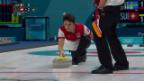 Video «Schweizer Curler scheitern im Halbfinal» abspielen