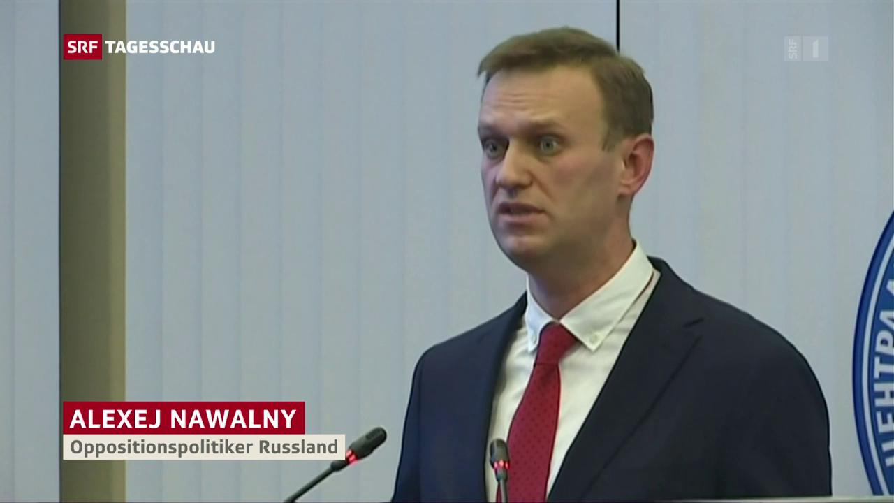 Nawalny nicht zu den Wahlen zugelassen