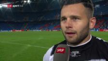 Video «Steffen: «Wir müssen zufrieden sein»» abspielen