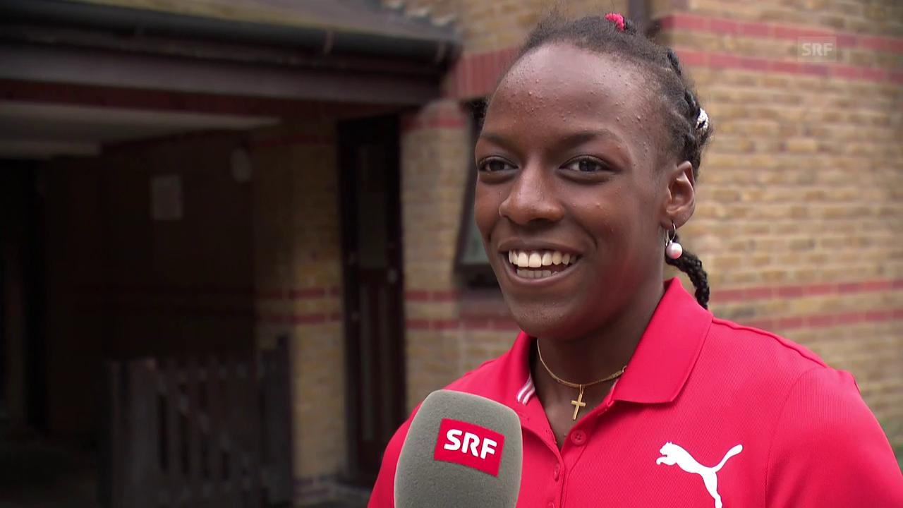 400-m-Hürdenläuferin Yasmin Giger stellt sich vor