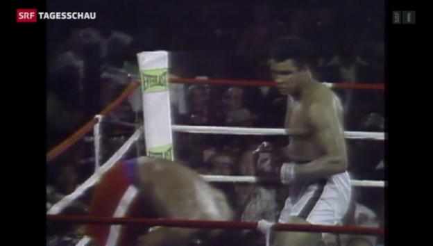 Video «Muhammad Alis Sieg vor 40 Jahren» abspielen