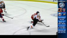 Video «Topskorer Simmonds führt die Flyers in die Spur» abspielen