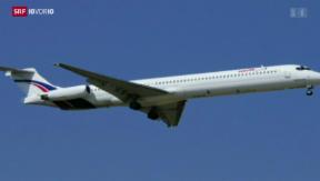 Video «Flugzeugabsturz über Mali» abspielen