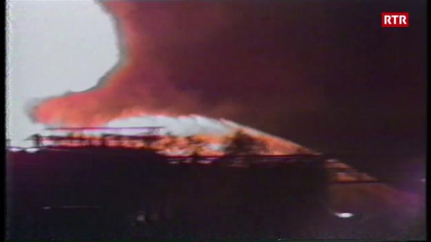 Laschar ir video «Infurmaziuns davart l'incendi dal TSI»