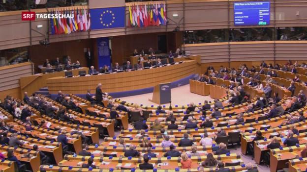 Video «Auslegeordnung bei der EU» abspielen