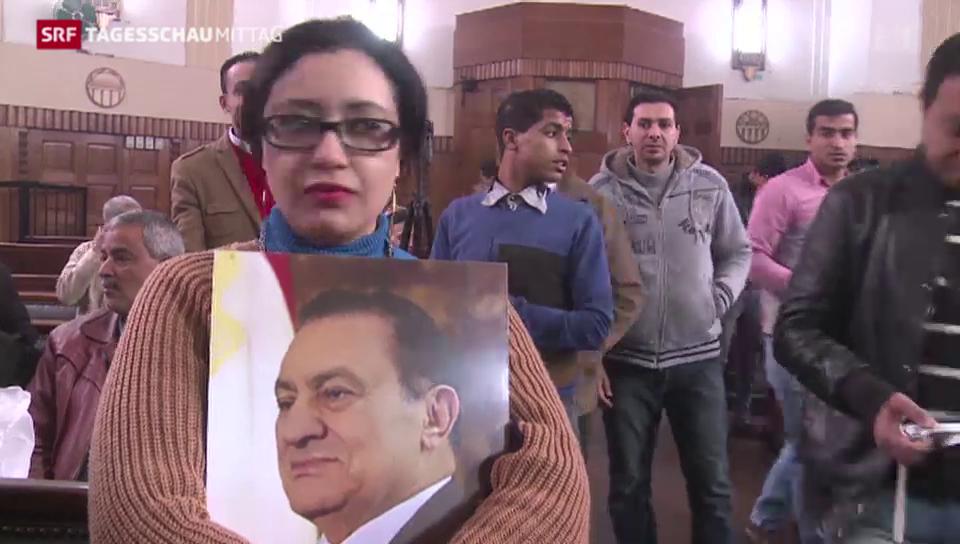 Ägyptischer Ex-Präsident freigesprochen