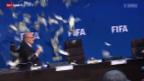 Video «Fussball: Meeting FIFA-Exekutive in Zürich» abspielen