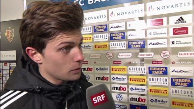 Video «Fussball: Basel-Sion, Interview mit Valentin Stocker» abspielen