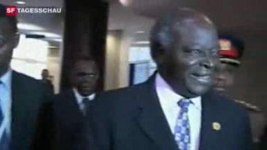 Video «Kenia 2008: Vermittlungsgespräche zwischen Opposition und Regierung» abspielen