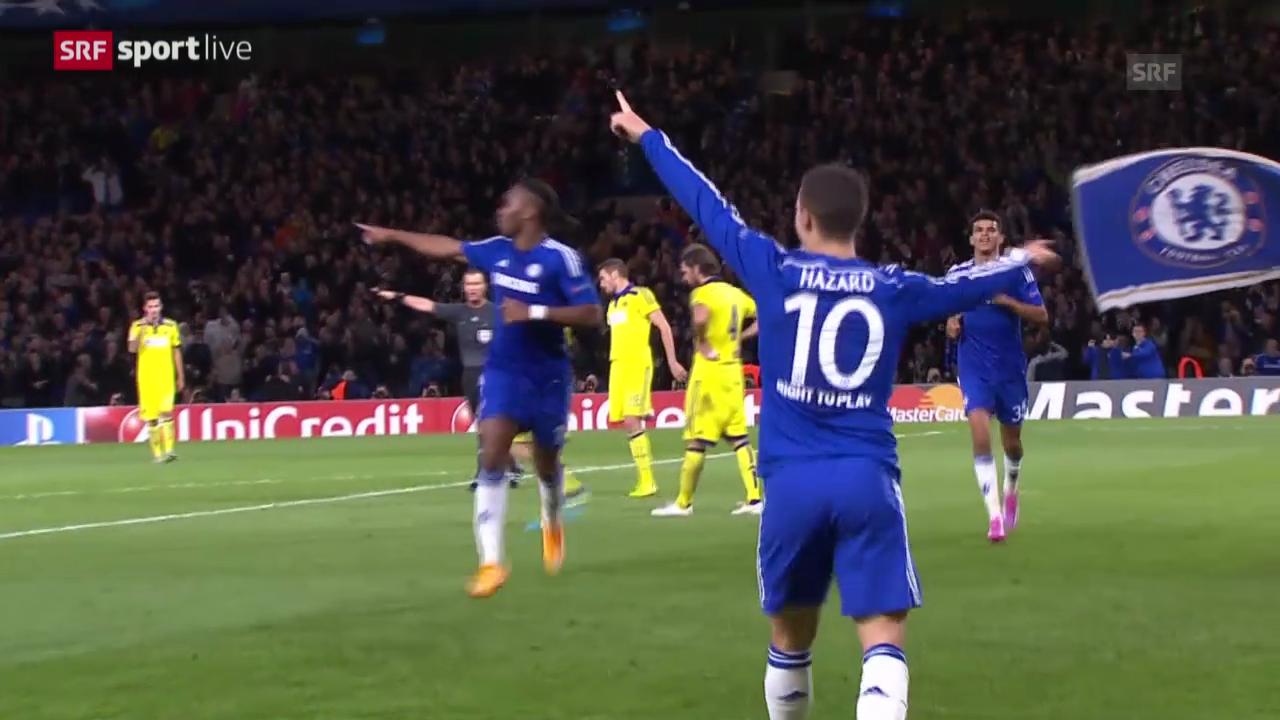 Fussball: Champions League, Chelsea - Maribor