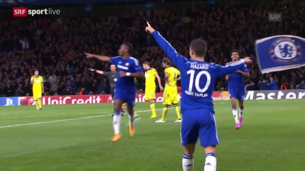 Video «Fussball: Champions League, Chelsea - Maribor» abspielen