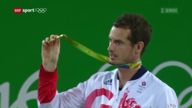 Video «Wie 2012: Andy Murray holt Gold» abspielen