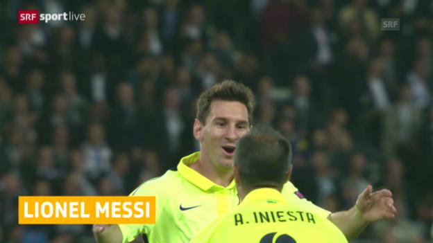 Video «Fussball: Lionel Messi vor Vertragsverlängerung» abspielen