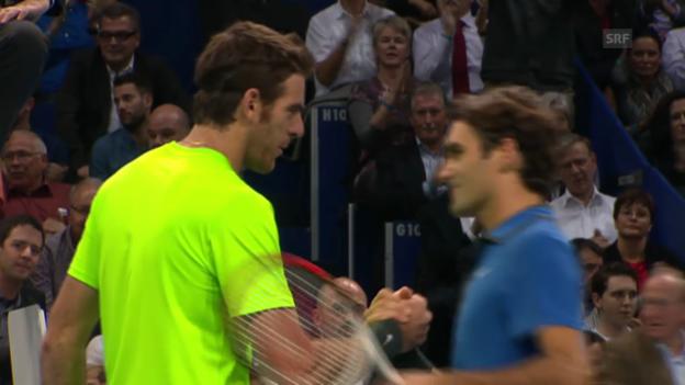 Video «Final des Swiss Indoors 2012» abspielen