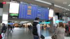 Video «Panne legt Zürcher Flughafen lahm» abspielen