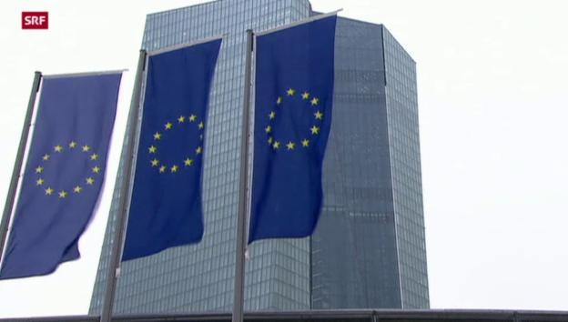 Video «EZB dreht Geldhahn nicht zu» abspielen