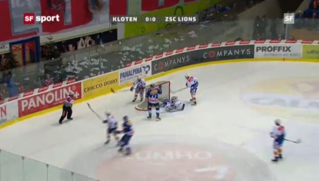 Video «NLA: Kloten - ZSC Lions» abspielen