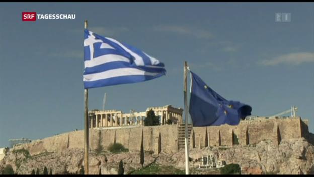 Video «Athen will wieder auf eigenen Beinen stehen» abspielen
