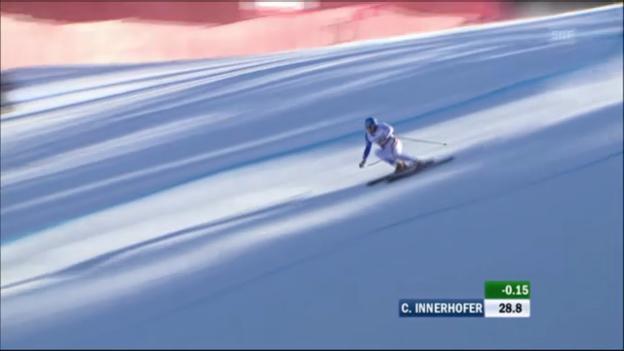 Video «WM-Super-G Männer 2011: Christof Innerhofer» abspielen