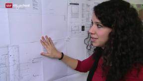 Video «Berufsbild: Zeichnerin EFZ» abspielen