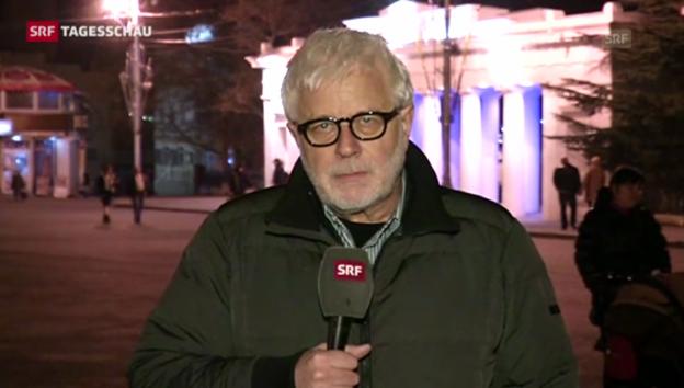 Video «SRF-Korrespondent: «Die Ukraine kontrolliert die Krim nicht mehr»» abspielen