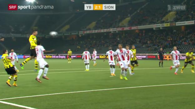 Video «Fussball: YB - Sion» abspielen