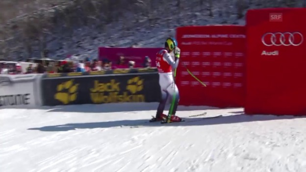 Video «Kim Hyeon-tae bestreitet den Super-G in Jeongseon» abspielen