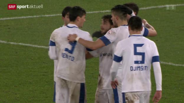 Video «Fussball: FC Zürich - Grasshoppers» abspielen