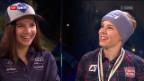 Video «Gespräch mit Tina Weirather und Nicole Schmidhofer» abspielen