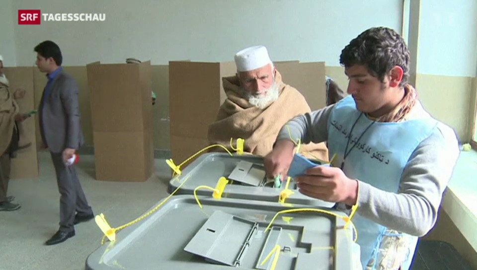 Spannung nach Wahl in Afghanistan