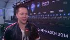 Video «Routinier: Sven Epiney als ESC-Kommentator» abspielen