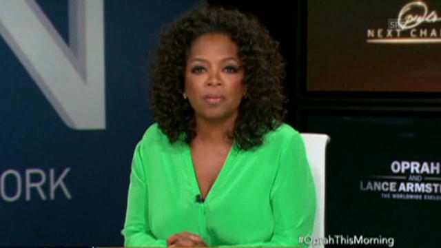 Oprah Winfrey über Lance Armstrong
