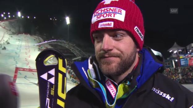 Video «Ski-WM: Teamevent, Interview mit Markus Vogel» abspielen