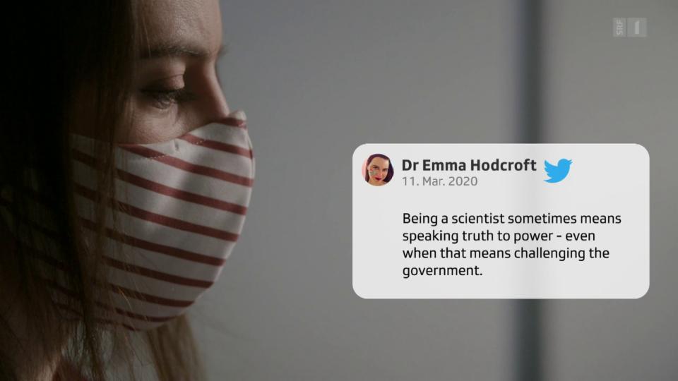 Vorausschauend und doch kaum gehört – Virenjägerin Emma Hodcroft